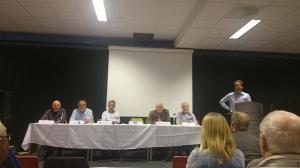 Lokalpoltikerne svarte på spørsmål og fortalte om sitt syn på den pågående kommunereformprosessen.